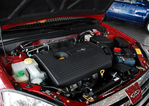 原款奇瑞A5的发动机-奇瑞A5BSG混合动力车 售7.48万图片