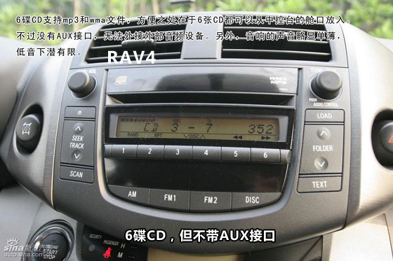 丰田rav4播放器接线图