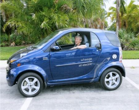 双环汽车旗下的电动小贵族是与美国一家专业制造电动车的高清图片