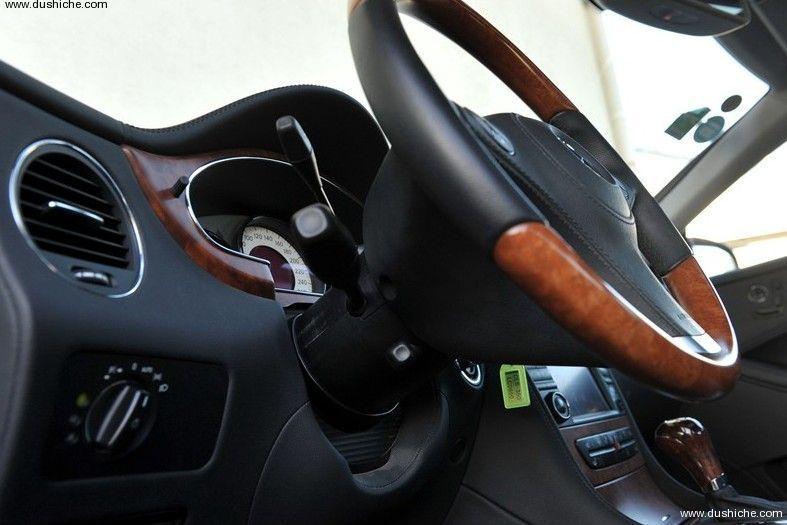 蜀车网-成都汽车门户网站cls-2009款 cls 350-中控方向盘  高清图片